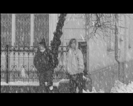 Centr - Зима ЧБ